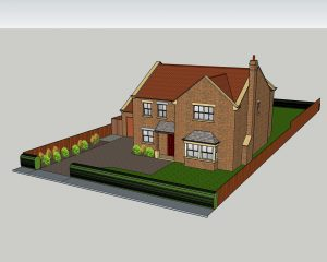 New build with 4 bedrooms in Carthorpe