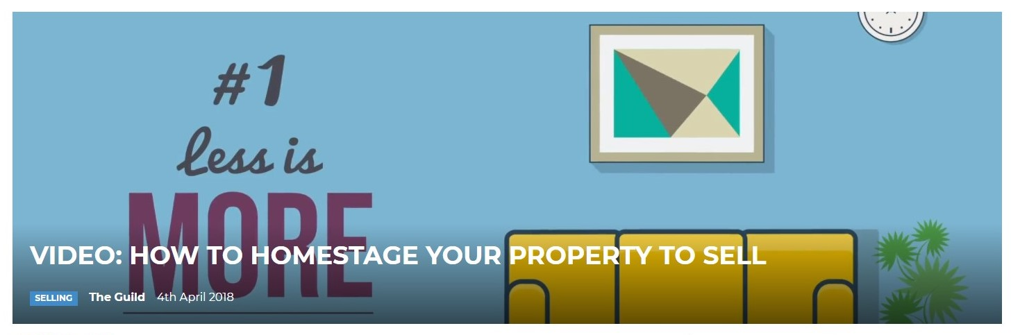 help to homestage your property