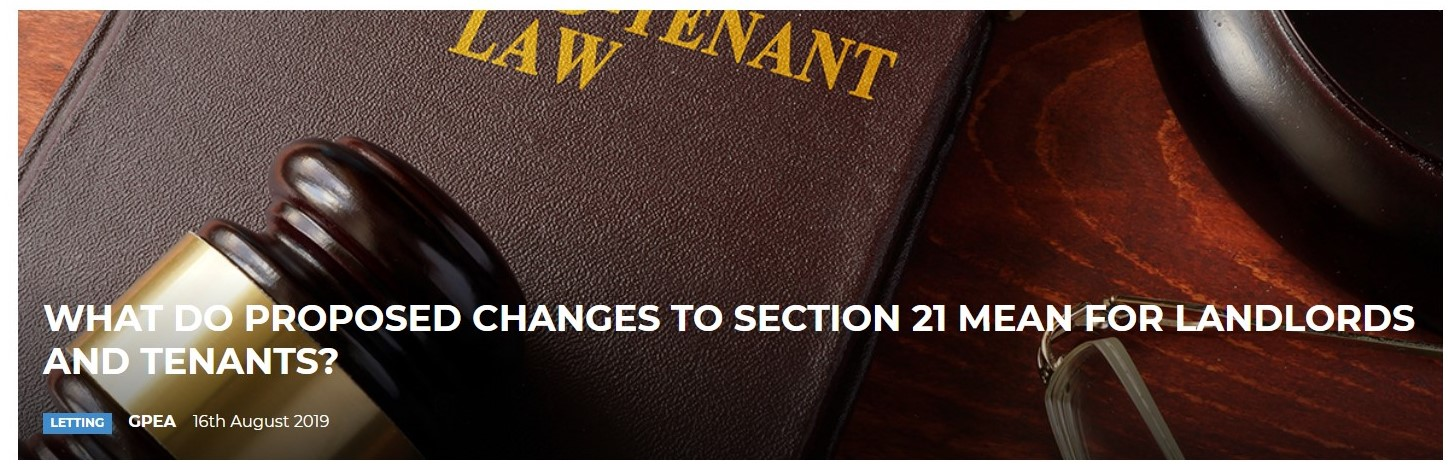 Changes to Section 21