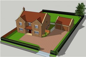 New build with 5 bedrooms in Carthorpe
